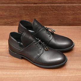 Туфли женские  №006-черные (36, 37, 38, 39, 40)