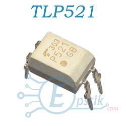 TLP521-1,(P521), оптопара транзисторная, DIP4