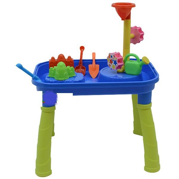 Столик-песочница с мельницей 53,5-34,5-40,5 см