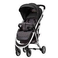 Детская прогулочная коляска с дождевиком серая CARRELLO Gloria RL-8506 Iron Gray