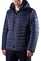 Мужская классическая демисезонная прямая куртка с капюшоном