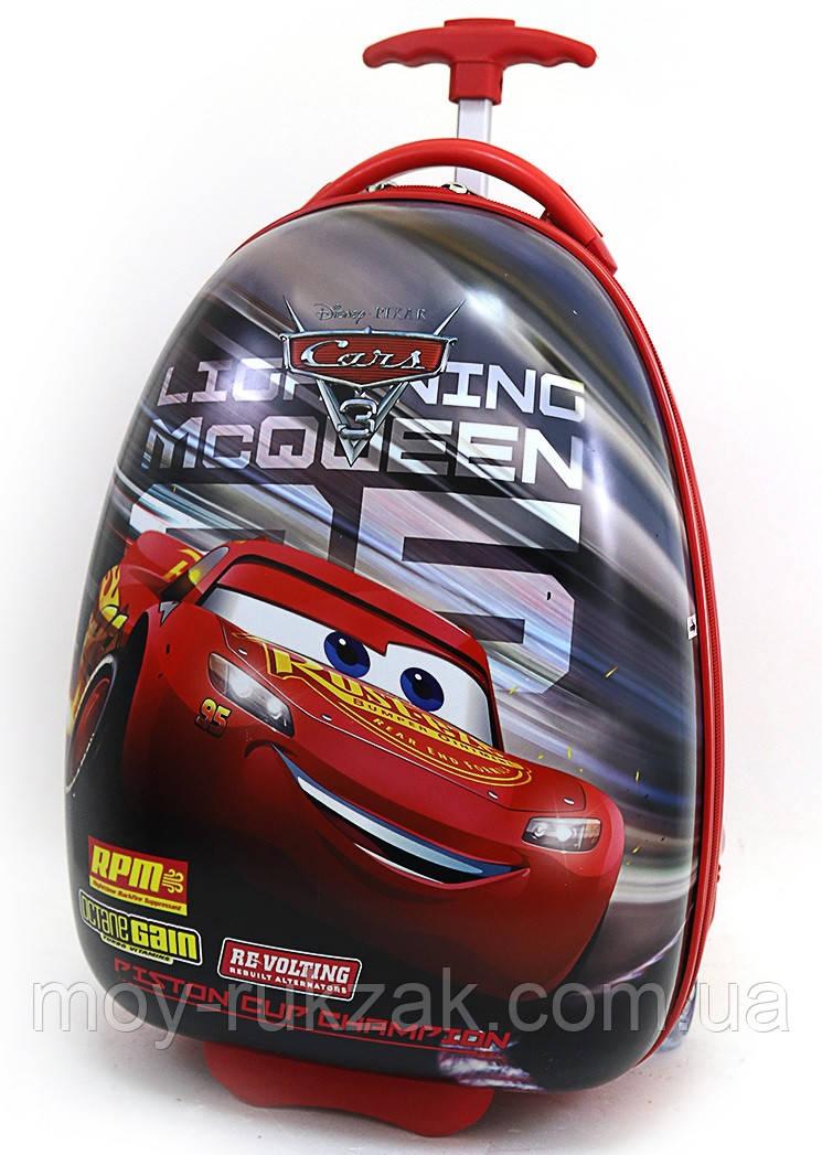 "Детский чемодан на колесах ""Josef Otten"" «Тачки» Cars-16"