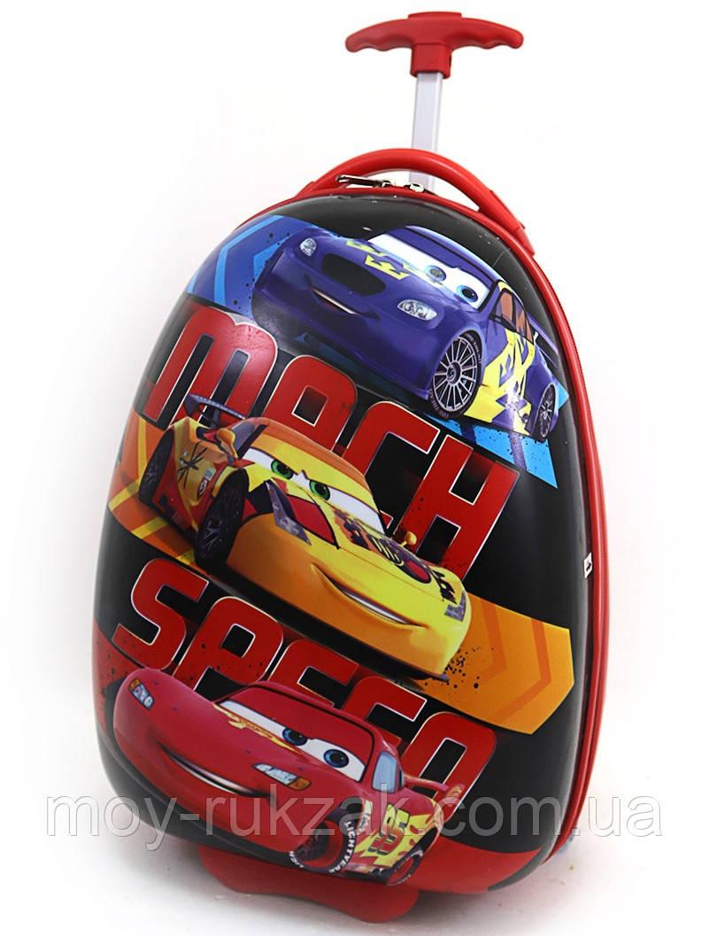 "Детский чемодан на колесах ""Josef Otten"" «Тачки» Cars-17"