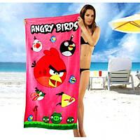 Полотенца для детей Angry Birds - №1635