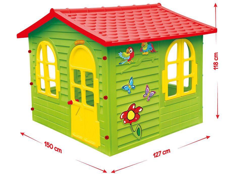 Домик садовый детский игровой большой XXL для квартиры и для дачи