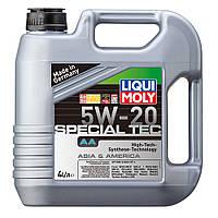 Синтетическое моторное масло - LEICHTLAUF SPECIAL АА 5W-20   4 л.