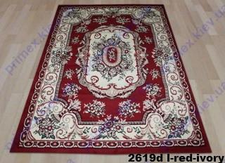 Tabriz 2619d l-red-ivory