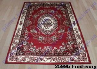 Tabriz 2599b l-red-ivory