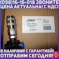 ⭐⭐⭐⭐⭐ Соединитель аварийный тройник 6х6 с быстросъемом (RIDER)  RD 01.05.05