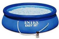 Надувной бассейн Intex 28146(366х91) с насосом и видеоинструкцией