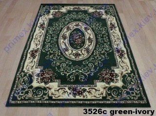 Tabriz 3526c green-ivory