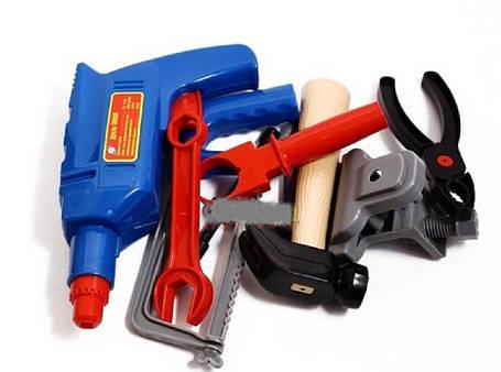 Детский набор инструментов Маленький механик, фото 2