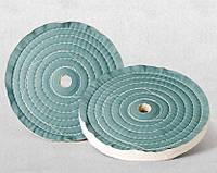 Круг полировочный  100х40~50x32(6)мм Бязевый (тканевый)