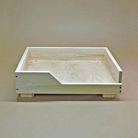 Лежак деревянный для собаки Дерби 35х45