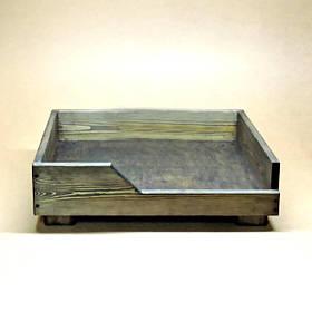 Лежак деревянный для собаки Дерби 40х50
