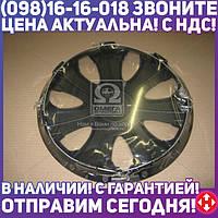 ⭐⭐⭐⭐⭐ Колпак колесный R15 ULTRA черный 1шт. (Дорожная Карта)  DK-R15UB