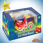 Пожарная машина на радиоуправлении для малышей Fire Truck Remote Control Little, фото 3