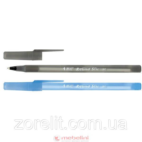 Ручка кулькова BIC раунд стік чорний