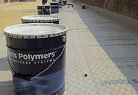 Гидроизоляция и ремонт кровель, крыш, паркингов, басейнов, фундаментов. Полиуретановые мастики Maris Polymers.
