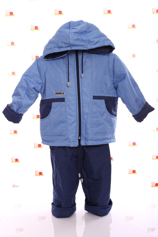 Демисезонная куртка с капюшоном  и  штаны для мальчиков 86-116р
