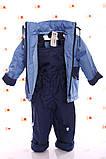 Демисезонная куртка с капюшоном  и  штаны для мальчиков 86-116р, фото 4