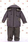 Демисезонная куртка с капюшоном  и  штаны для мальчиков 86-116р, фото 9
