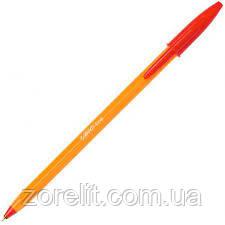 Ручка кулькова BIC оранж червоний