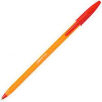 Ручка шариковая BIC оранж красный