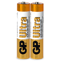 Батарейка GP ULTRA ALKALINE 1.5V 15AU-S2 LR6, AA (2шт сп.)