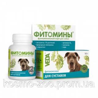 Фитомины для укрепления и обновления суставов для собак 100 таб