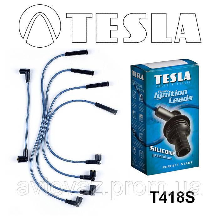 Провода высоковольтные ВАЗ 2121, ВАЗ 21213 Нива карбюратор СИЛИКОН (Tesla)