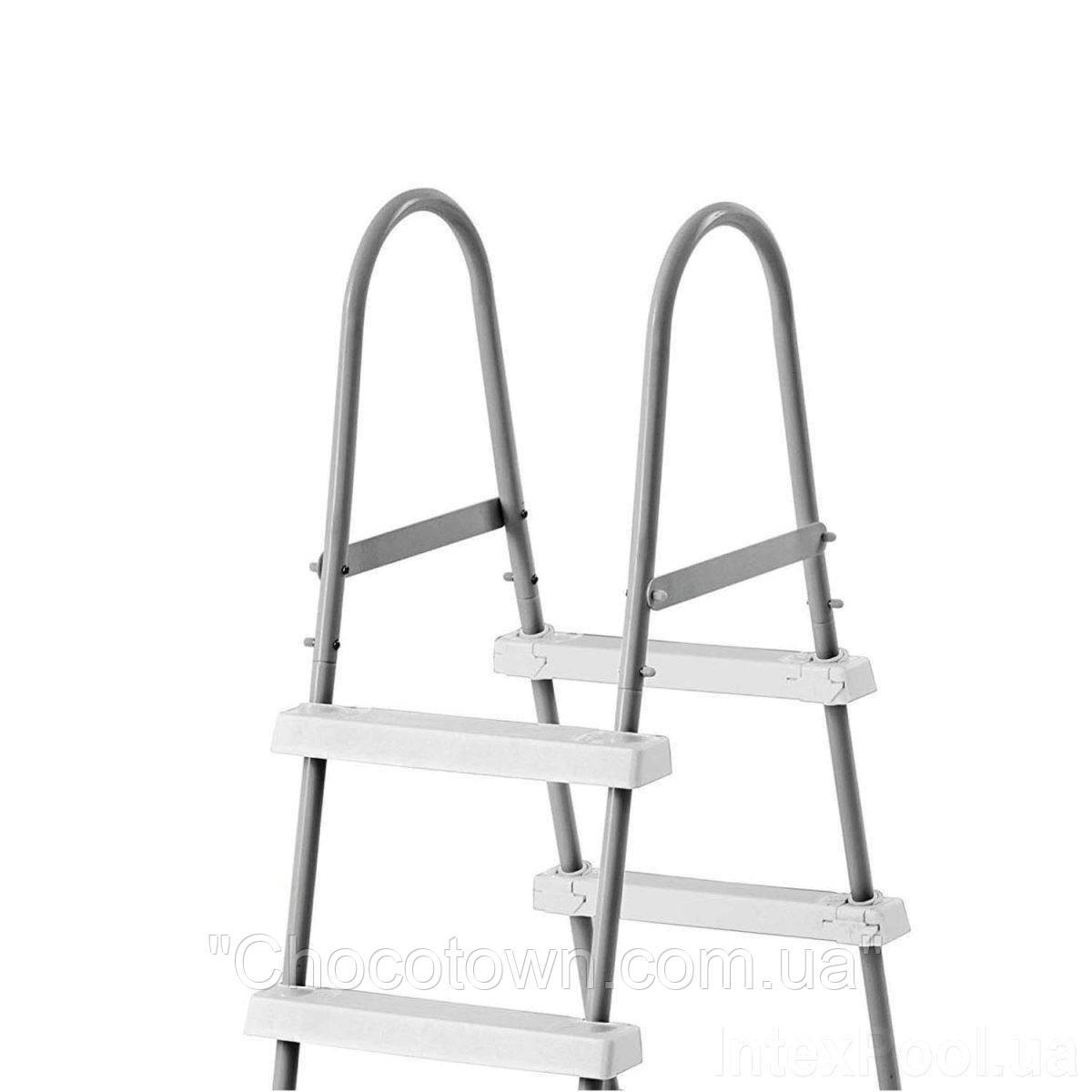 Лестница для бассейна Intex 28065 (28057) (107 см), двухсекционная  HN KK