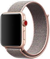 Ремешок UWatch Nylon for Apple Watch 38 mm Pink Sand