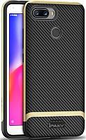 Чехол-накладка Ipaky Bumblebee Series/PC Frame With TPU Case Xiaomi Redmi 6 Gold