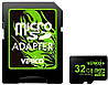 Карта памяти Verico microSDHC Class 4 SD adapter 32 Gb