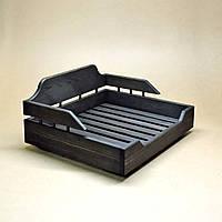 Лежак деревянный для собаки Алмейда 45х55 венге