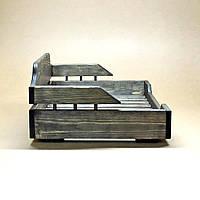 Лежак деревянный для собаки Алмейда 45х55 морион