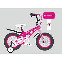Детский двухколесный велосипедPROFI 18 дюймов (малиновый), Infinity, LMG18203