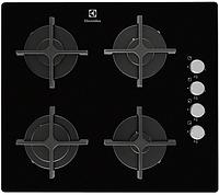 Варочная поверхность Electrolux EGT 16142 NK (газ на стекле, 58 см, 4 конфорки)