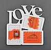 """Фоторамка   10x15/3 """"Love"""" W"""