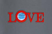 """Фоторамка   10x10 """"Love"""" R"""