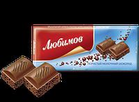 Шоколад Любимов пористый молочный 65 г