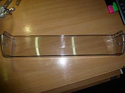 Пластик Атлант  барьер 301543105802 Бар'єр на двері нижні(Бар'єр-полиця коротка прозора 17,18,40..,60.. Серії)