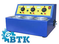 Аппарат для нанесения гальванических покрытий (3х1 л) - АГ-1