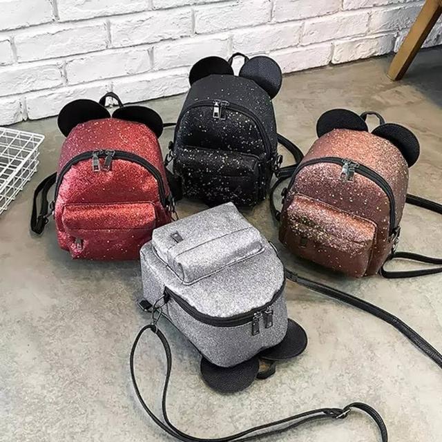 Рюкзак мини с ушками фото 1