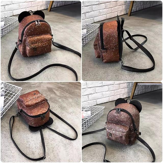 Рюкзак мини с ушками фото 2