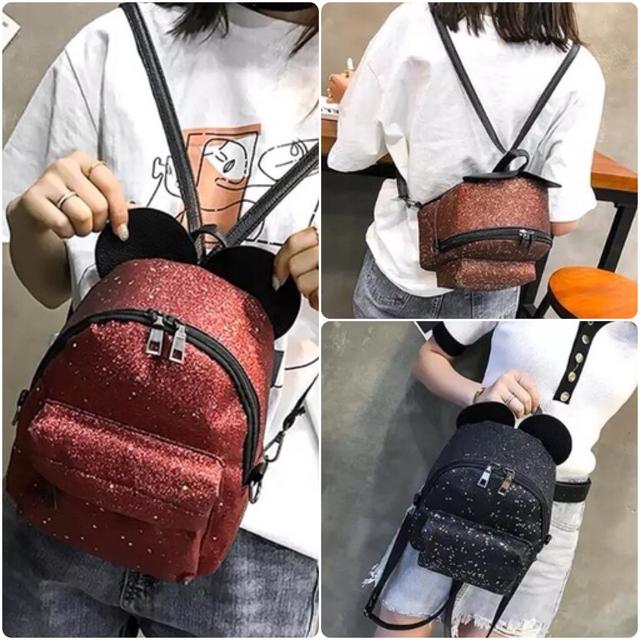 Рюкзак мини с ушками фото 3