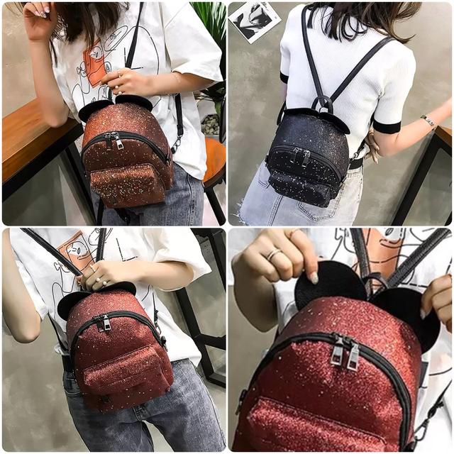 Рюкзак мини с ушками фото 4