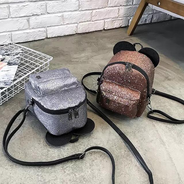 Рюкзак мини с ушками фото 7