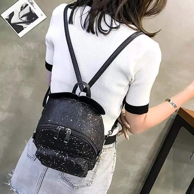 Рюкзак мини с ушками фото 5